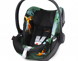 Столче за кола Cybex Cloud Q Birds of Paradise