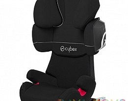Столче за кола Cybex Solution X2 Fix Pure Black 2015