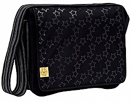 Чанта Lassig Messenger Casual Reflective Stars black