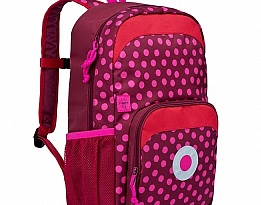 Детска раница  mini backpack Big Dottie red Lassig