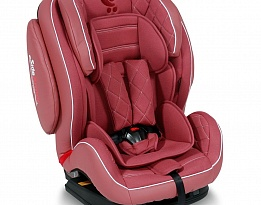 Стол за кола 9-36 кг MARS+SPS ISOFIX LEATHER ROSE