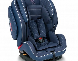 Стол за кола 9-36 кг MARS+SPS ISOFIX LEATHER DARK BLUE