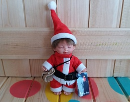 "Magic Baby кукла ""Sleeping Santa Claus"""