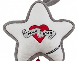 Rock Star Baby музикална играчка Heart & Wings