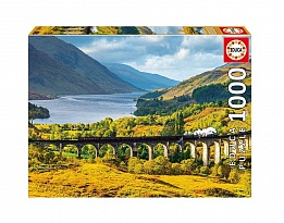 Пъзел EDUCA GLENFINNAN VIADUCT 1000ч 16749