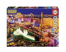 Пъзел EDUCA NEON WORLD MAP Светещ 1000ч 16761