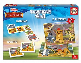 Комплект 4 в1 EDUCA SUPERPACK THE LION GUARD 16729