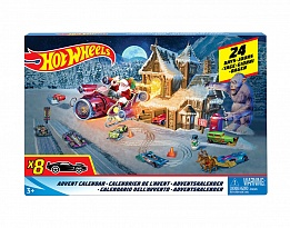 Коледен календар Hot Wheels, с изненади