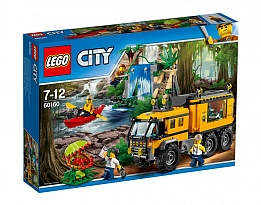 LEGO City Jungle Explorers 60160 – Мобилна лаборатория