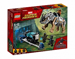 LEGO Marvel Super Heroes 76099 - Rhino Face-Off by the Mine