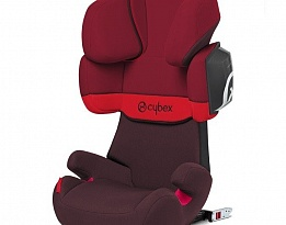 Стол за кола Cybex Solution X2 Fix Rumba Red 2015