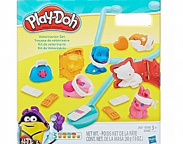 Моделин Hasbro Play Doh Ветеринар C3303