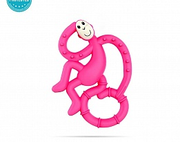 Matchstick Monkey Mini Monkey Teether чесалка с апликатор - Pink