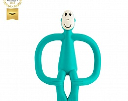 Matchstick Monkey Original Monkey Teething Toy чесалка с апликатор - Green