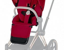 Тапицерия за седалка Cybex Priam Seat pack  Lux True red