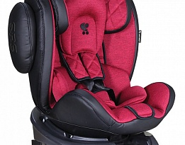 Стол За Кола Aviator Isofix 0-36Kg Black + Red