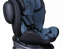 Стол за кола Aviator Isofix 0-36Kg Black + Blue