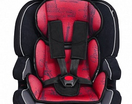 Стол за кола Navigator 9-36Kg Black&red Cities