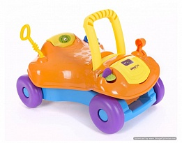 Количка за яздене Baby walker 2 in 1 Orange