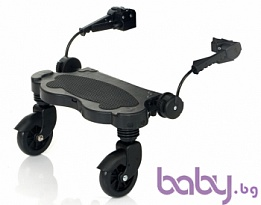 ABC DESIGN I.Слайдър за второ дете Kiddy Ride On Черен