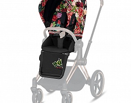 Cybex Тапицерия за луксозна седалка Priam и e-Priam Seat Pack Spring Blossom Dark
