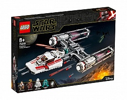 LEGO Star Wars 75249 - Y-wing Starfighter на Съпротивата