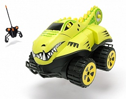 Кола Амфибия Крокодил RC Dino Basher Crocodile RTR